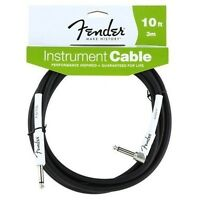 Fender® 10' Performance Series Instrument Cable Straight/angle 0990820006 on sale
