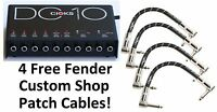 New CIOKS DC10 Guitar Pedal Power Supply! Free Patches! DC 10
