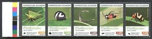 ECUADOR - INSECTS 2015, Complete Set, MNH, VF