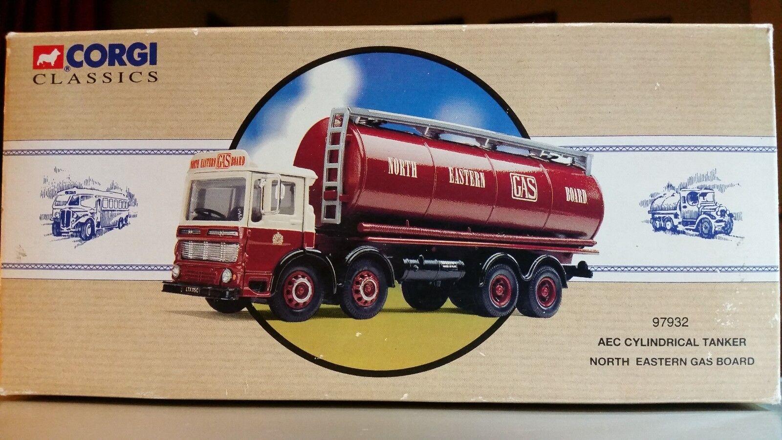Corgi Classic North Eastern Gas Board AEC Cylinderisk Tanker, tärningskast NIB