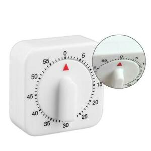 Square-60-Minute-Mechanical-Kitchen-Cooking-Timer-Food-Preparation-Baking-BR