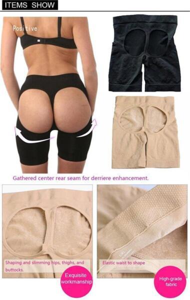 Push-up Hips Hüfte Pants Mieder-Slip Knackpo Panty Sexy Hufte Lift Bein Shaper