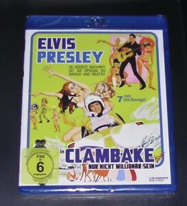 Clambake-non-solo-essere-milionario-con-Elvis-Presley-BLU-RAY-NUOVO-amp-OVP