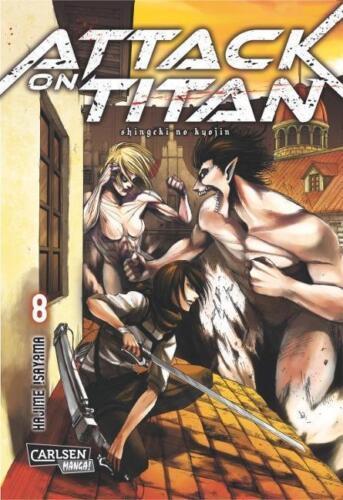 1 von 1 - Attack on Titan, Band 8 von Isayama, Hajime