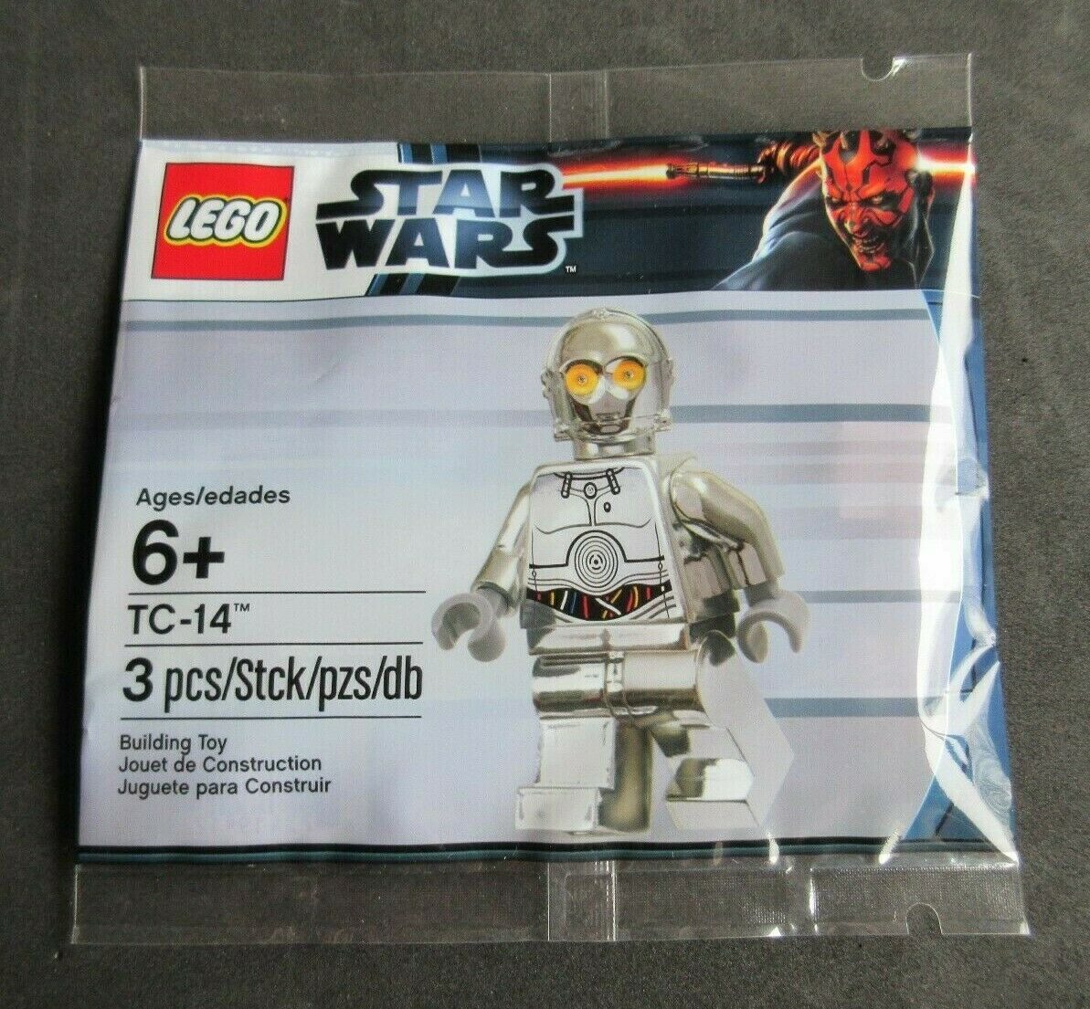 LEGO Star Wars Set 5000063 Chrome TC-14 Polybag (New (New (New & Sealed) ccf1f3