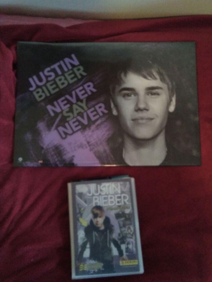 Samlekort, Justin Bieber