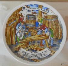 Vintage Barrel Makers Plate Wanderung 1985 Bockenau Germany