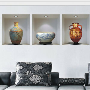 Chinese-style-ceramic-vase-vinyl-wall-stickers-home-decor-decoration-living-room