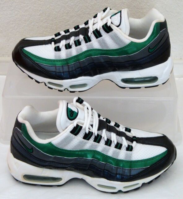 c13e738bc7 Vintage Nike Air Max 95 Pine Green Grey Mens US Size 7.5 UK 6.5 EUR 40.5