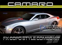 2010 Chevrolet Camaro Copo Style Body Hockey & Hood Spears Stripe 3m Stripes