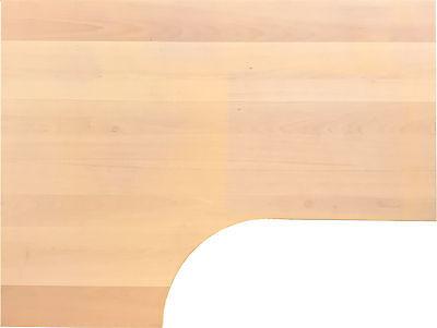 IKEA Galant Ecktischplatte Form 160x60x80x120cm Buche ab 2006 L