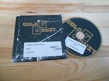 CD Pop Crown City Rockers - Kiss (6 Song) Promo GOLD DUST / K7! REC cb