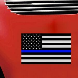 1Pc-Blue-Lives-Matter-USA-American-Thin-Line-Flag-Car-Decal-Sticker-Universal