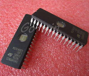 M27C4001-10F1 27C4001 ST IC EPROM UV 4MBIT 100NS 32CDIP