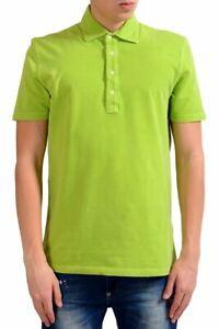 Malo Men/'s White Stretch Short Sleeve Polo Shirt Size M L XL 2XL