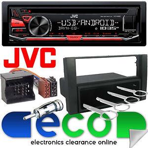 ford focus rs mk2 jvc cd mp3 usb aux car radio stereo player fitting kit fd10 ebay. Black Bedroom Furniture Sets. Home Design Ideas