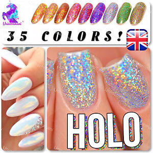 Image Is Loading Mermaid Effect Nail Powder Holographic Amp Iridescent Glitter