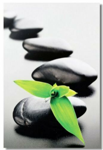Poster Zen Stone Garden Rocks Spa Room Art Wall Cloth Print 03