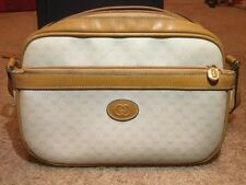 Authentic Vintage Gucci Handbag-1970s Ivory/Leather, Small, Over Shoulder Purse