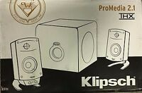 Klipsch - Promedia 2.1 - Thx Certified Computer Speaker System