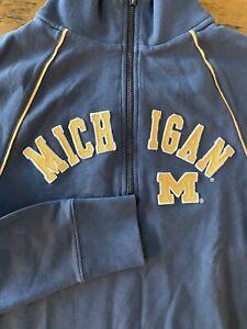 47 NCAA Mens Triple Coverage 1//4-Zip Sweatshirt