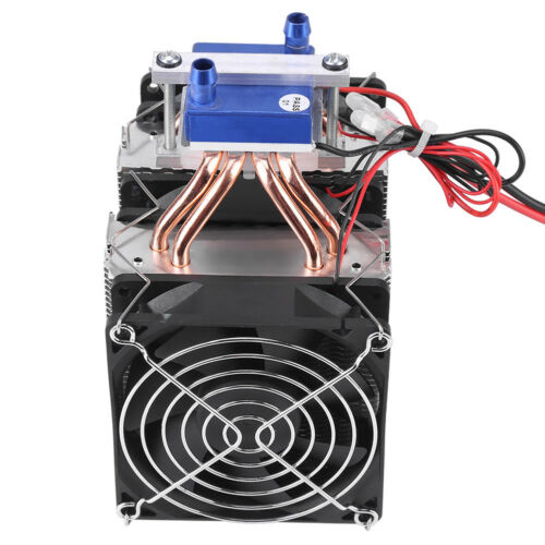 Thermoelectric Cooler Refrigeration Water DIY Cooling System fr Fish Tank Hot GL
