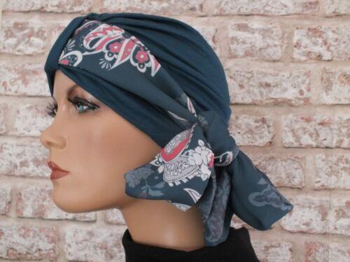 chimio leucémie Jersey Chapeau Head Wear turban et écharpe pour perte de cheveux cancer