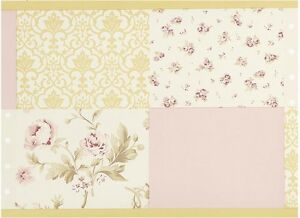 Image Is Loading Kidsline Sweet Lullaby Wallpaper Border French Floral Toile