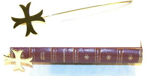 Marque page Croix Templière - Marque page médiéval - Marque page Moyen Age HeTA7EUg-08142222-728953971