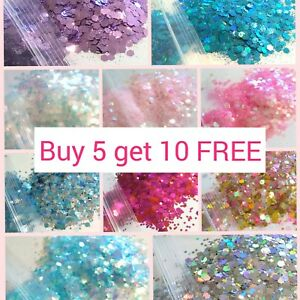 CHUNKY-Festival-Glitter-5g-bag-Face-Eye-Body-Hair-Tattoo-Cosmetic-Glitter-Party