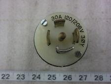 Used Hubbell HBL 2810A 30A 120//208V 3ØY Twist-Lock Receptacle L21-30R
