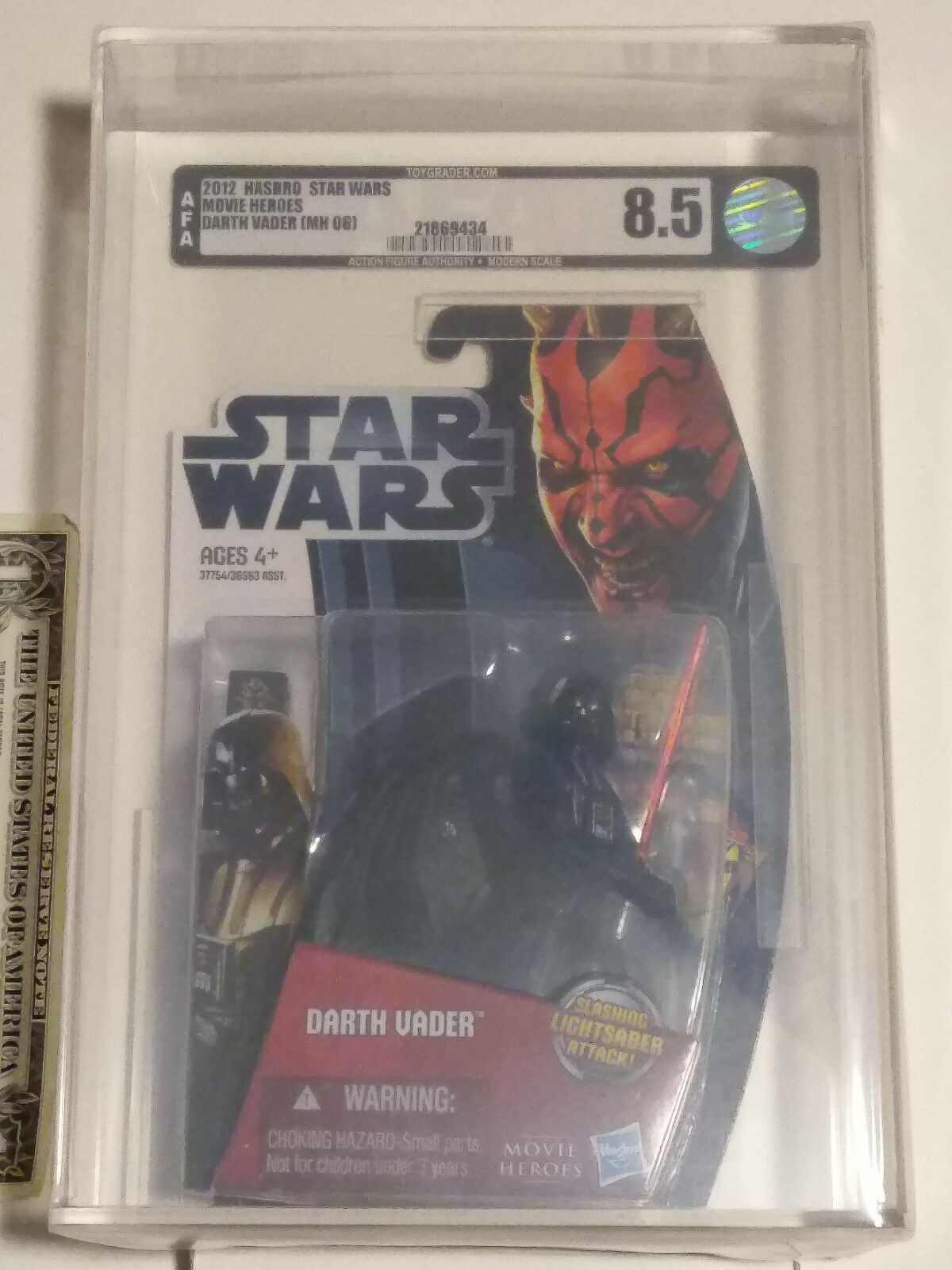 Afa 8,5  star wars  - film - helden darth vader ((06) 2012 von hasbro in 2012