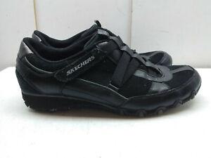 11m Skechers sneaker pelle donna atletica nera zeppa in Scarpa 41 da per passeggio elastica con JcTFlK1