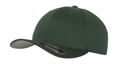 Original FLEXFIT® Yupoong Baseball Cap Basecap Wooly Combed Kappe NEU!