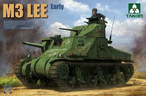 Takom m3 Lee Early US Tank 2085