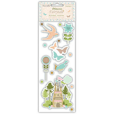 Dovecraft Pintado Flores-Adhesivo Gemas