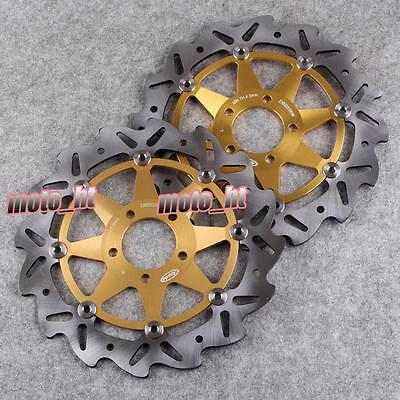 Front Brake Disc Rotors Kawasaki Ninja ZX12R 04 05 & ZX6R 95-01 & Z1000 03-06