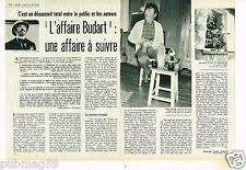 Coupure de presse Clipping 1972 (2 pages) L'Affaire Budart .. Roger Riffard
