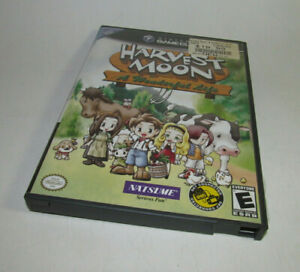 Harvest-Moon-A-Wonderful-Life-Nintendo-GameCube-2004-Fun-Game-Nice-Shape