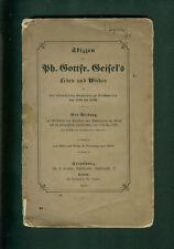 Skizzen zu Ph. Gottfr. Geisel's Leben und Wirken Bischweiler Elsaß 1857 Pfalz