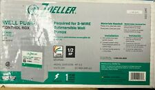 Zoeller Well Pump Control Box 12 Hp For 3 Wire Submersible Well Pumps