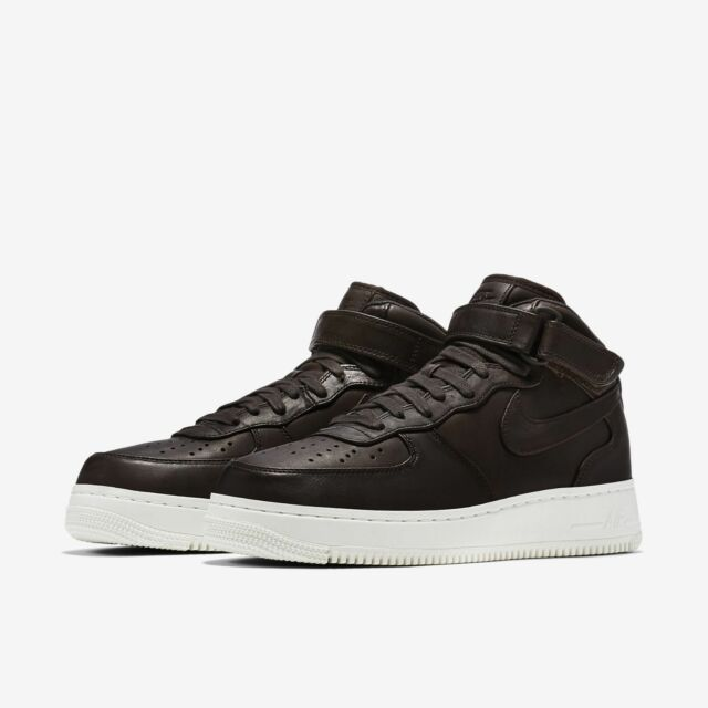 reputable site a3345 1b30e Mens Nike NikeLab Air Force 1 Mid 905619-200 Valet Brown Brand New Sz 10.5