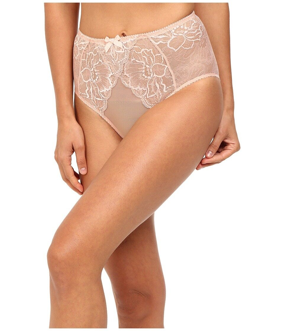 L'Agent By Agent Provocateur 6205 Womens Pink Leola High Waist Briefs Size Small