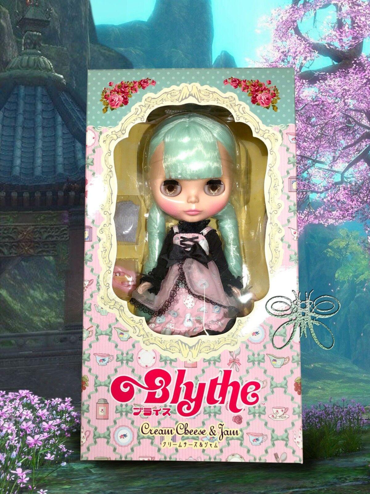En Stock Ahora Ahora Ahora  Neo Blythe Doll queso crema y mermelada de pelo verde menta  Envio gratis en todas las ordenes
