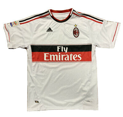 Adidas Climacool AC Milan Soccer Jersey Fly Emirates David Luiz #4 ACM 1899 | eBay