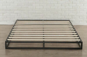 Zinus Modern Studio 6 Inch Platforma Low Profile Bed Frame Mattress Foundation