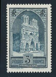 FRANCE-1930-3Fr-TYPE-2-VF-MLH-Sc-247a-CAT-125-SEE-BELOW