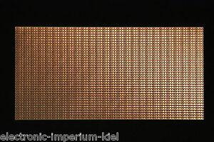 Lochrasterplatine-Punkt-Streifenraster-RM-2-54mm-200-x-100mm