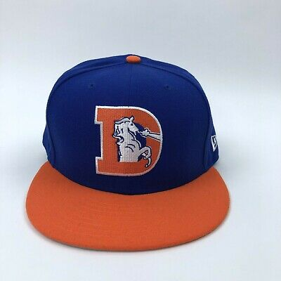 denver broncos fitted hats