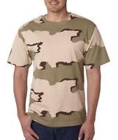 Code V Adult Camouflage T-shirt (desert Camo) (3x)